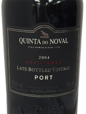 Noval Late Bottled Vintage 2012, Unfiltered Port Quinta do Noval