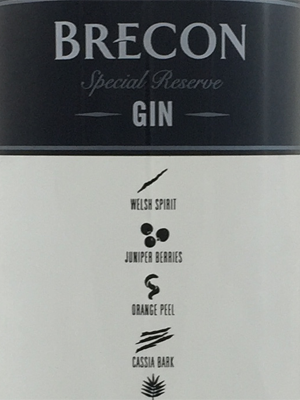 Penderyn Brecon Gin Special Reserve, Gin, Wales, 40%, 70cl