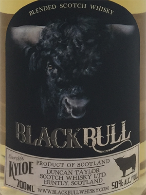 Black Bull Kyloe, Blended Scotch Whisky, Kyloe, Whisky, Skotland, 70cl, 50%