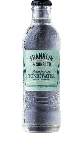 Elderflower with Cucumber Tonic, Franklin & Sons, 20cl