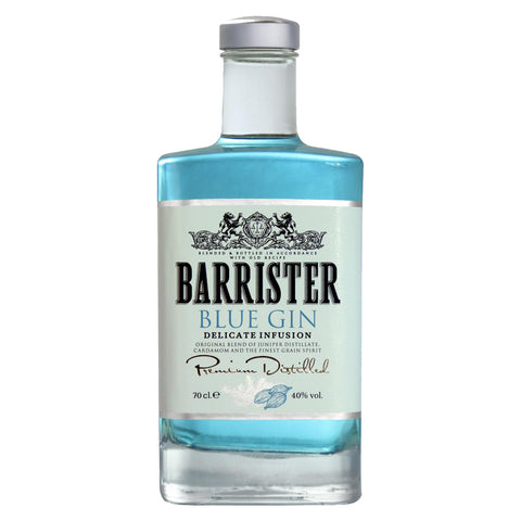 Barrister Blue Gin, 70cl, 40%