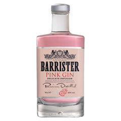 Barrister Pink Gin, 70cl, 40%