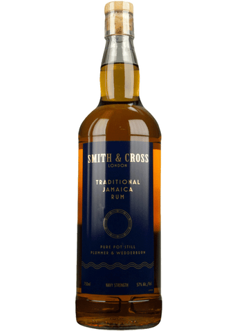 Smith & Cross Traditional Jamaica Rum, Navy Strength 57%