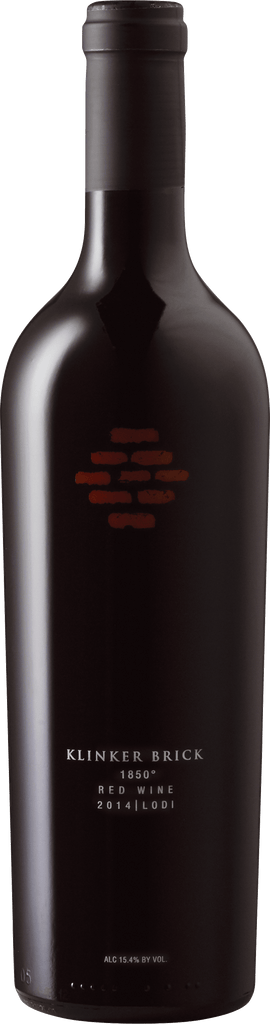 Klinker Brick Winery, 1850 Red Wine 2014, Lodi, 15,4%
