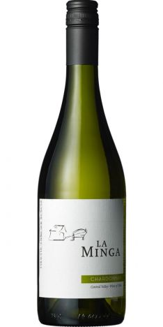 2017 La Minga Chardonnay, Hvidvin, Central Valley, Chile, 12,0%, Skruelåg