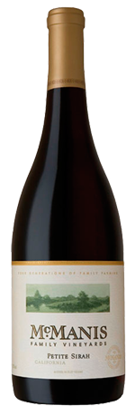 McManis Petite Sirah 2018, McManis Family Vineyards, California, 13.5%
