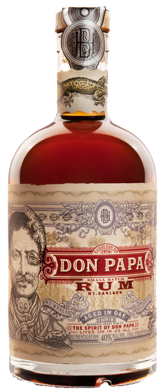 Don Papa Rum Small Batch Rum, Rom 70cl