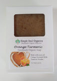 Orange Turmeric, Handmade Organic Soap