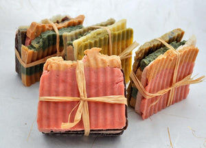 Sample Bundle, Handmade Organic Soap