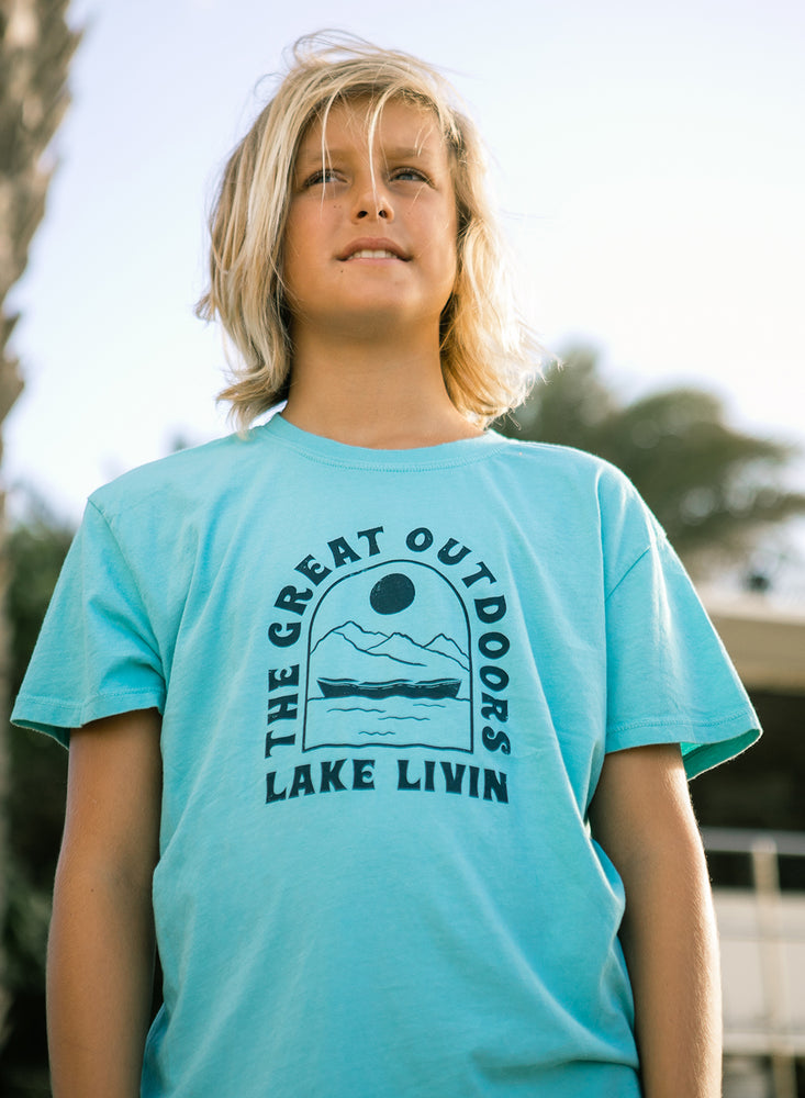 Load image into Gallery viewer, LAKE LIVIN' VINTAGE TEE