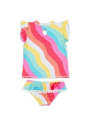 Load image into Gallery viewer, SEASHELL RUFFLE 2-PIECE SET SS