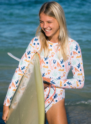 Load image into Gallery viewer, WAVE CHASER SURF SUIT LS