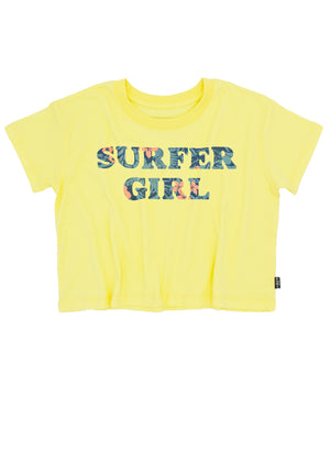 SURFER GIRL CROP TEE