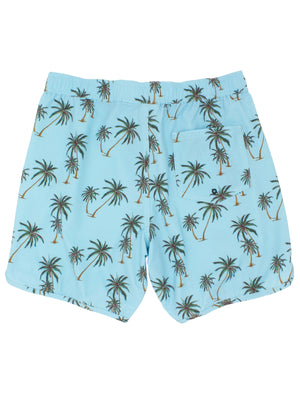 Load image into Gallery viewer, MEN WAVY PALM BOARDSHORT