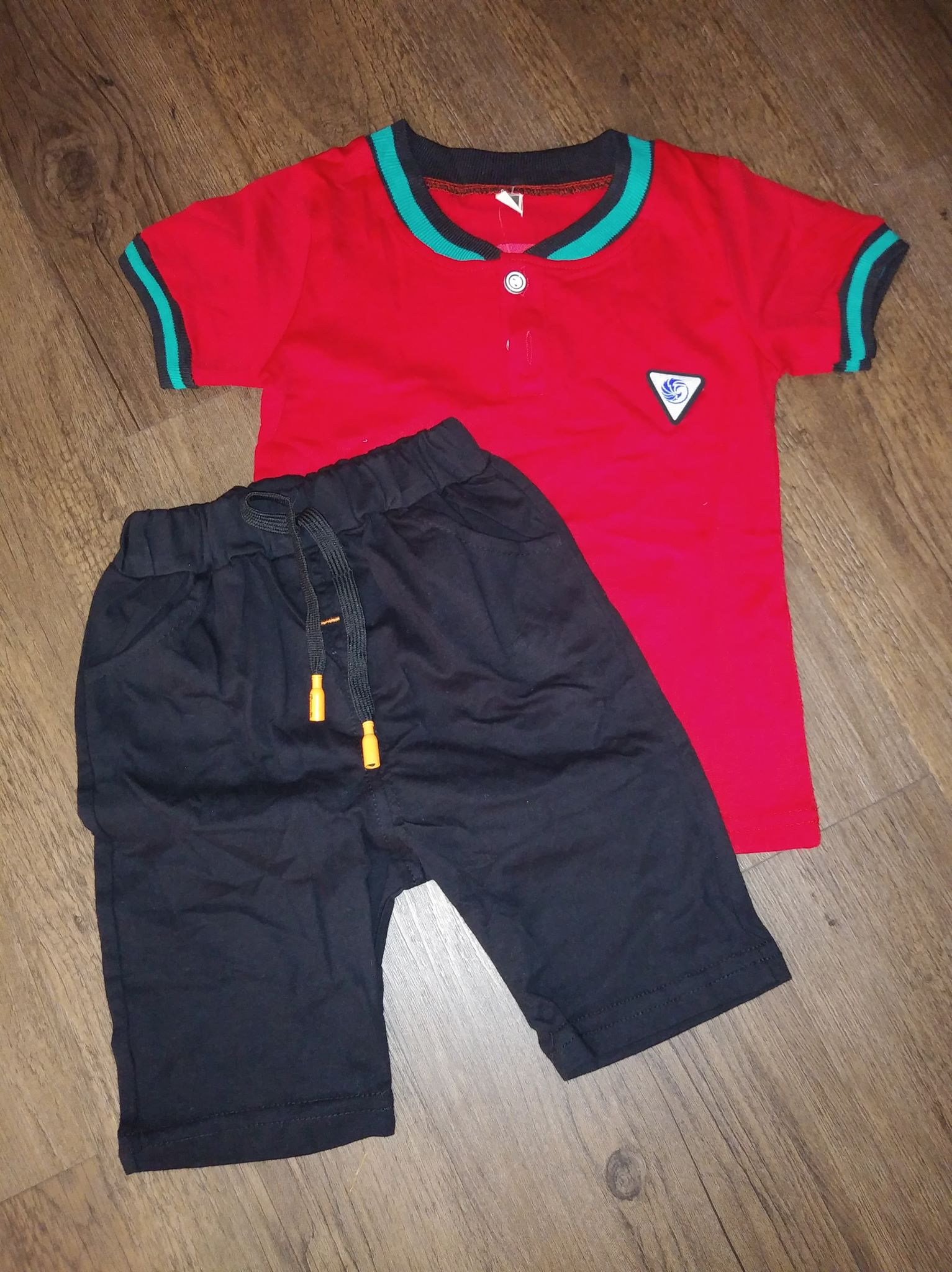 Boys 2-Piece Polo Shirt & Short Set