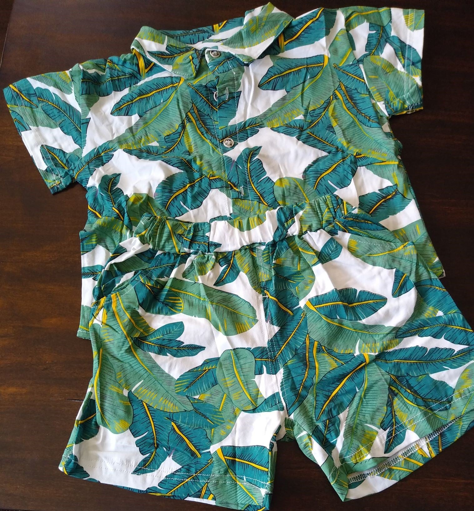 Boys Hawaiian Summer Set Outfit
