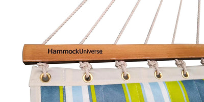 Hammock Universe Hammocks with Stands Deluxe Quilted Hammock with 3-Beam Stand
