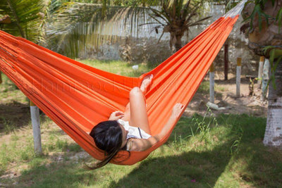 Hammock Universe Hammocks Orange Colombian Double Hammock