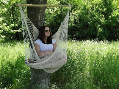 Hammock Universe Hammock Chairs Brown and Beige Mayan Hammock Chair