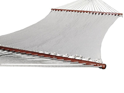 Hammock Universe Hammocks with Stands Coffee Deluxe Polyester Rope Hammock with 3-Beam Stand