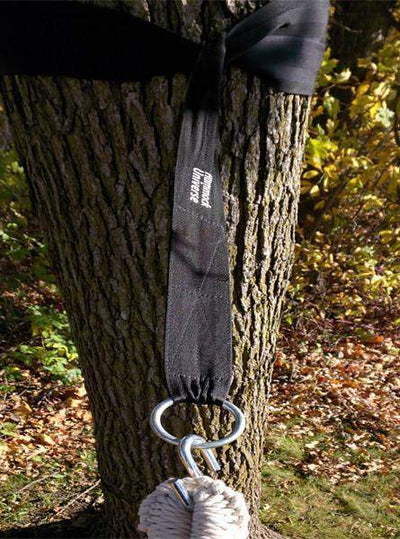 Hammock Universe Hammock Accessories Black Eco-Friendly Hammock Tree Straps