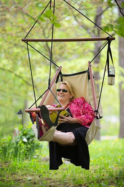 Adjustable Hanging Hammock Chair With Foot Rest Hammock Universe Usa