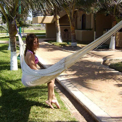 Hammock Universe Hammocks Hot Colors Mayan Hammock - XL Family-sized Thick Cord