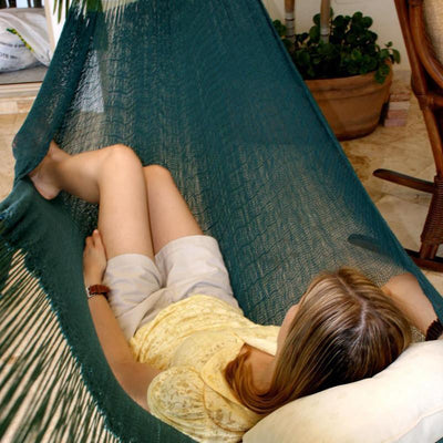 Hammock Universe Hammocks with Stands Forest Green Double Mayan Hammock with Universal Stand