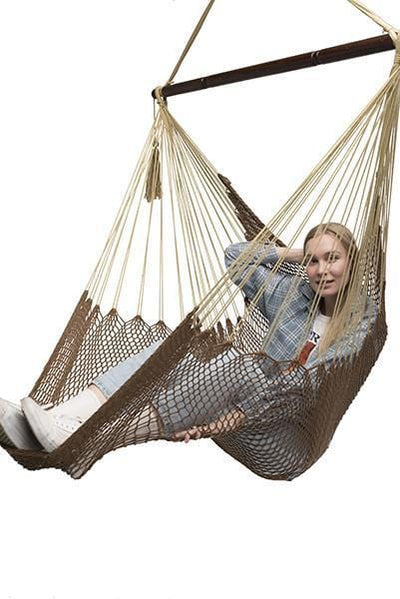 Hammock Universe Hammocks with Stands Brown and Beige Mayan Hammock Chair with Universal Chair Stand