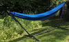 Hammock Universe Hammocks with Stands blue-black-patterns Brazilian Double Hammock with Universal Stand