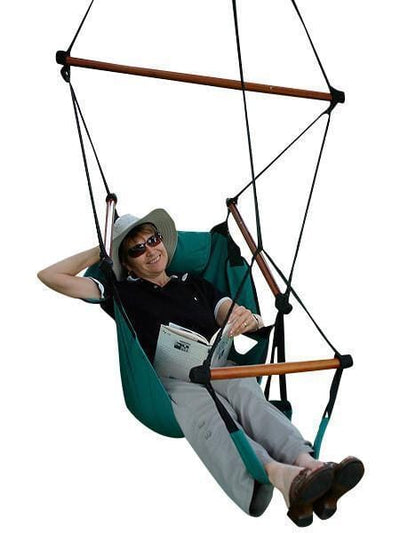 Hammock Universe Hammock Chairs Sandy Adjustable Hanging Hammock Chair with Foot Rest