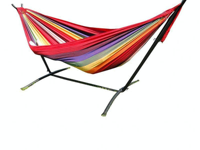 Hammock Universe Hammocks with Stands hot-colors Brazilian Double Hammock with Universal Stand
