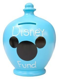 Terramundi Money Pot - Blue Disney Fund S185