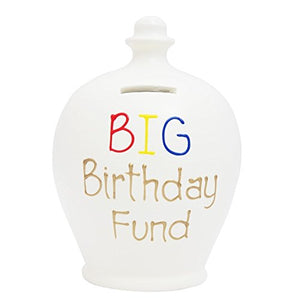 Terramundi - S295 - White with Big Birthday Fund