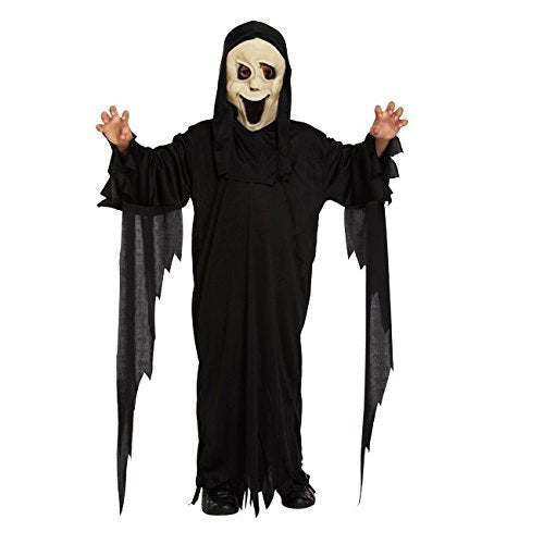 Dress Up Big Boys' Demon Ghost - Halloween Costume 10-12 Years Black