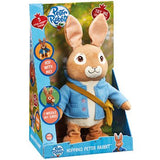 Peter Rabbit Talking and Hopping