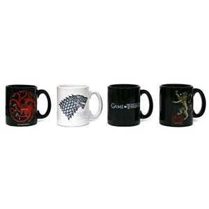 Set Of 4 Game Of Thrones Espresso Mugs