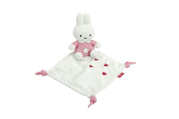 Pink Miffy Denim Comfort Blanket