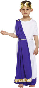 Child Boys Roman Emperor Costume (7-9 years) by Henbrandt