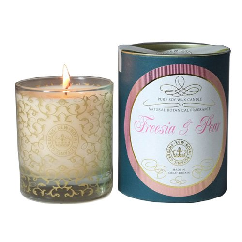 Kew Gardens Freesia and Pear Room Fragrance Candle - Floral