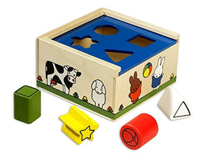 Miffy Mf33090 Classic Wooden Shape Sorter