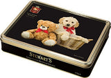 Stewarts Luxury Shortbread Black Collection - Furry Friends 400g