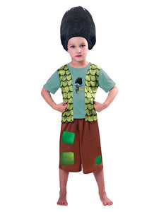 New Disney George Trolls Branch Fancy Dress Costume Outfit [3-4]