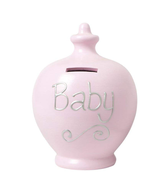 Terramundi Money Pot - Baby Pink S49