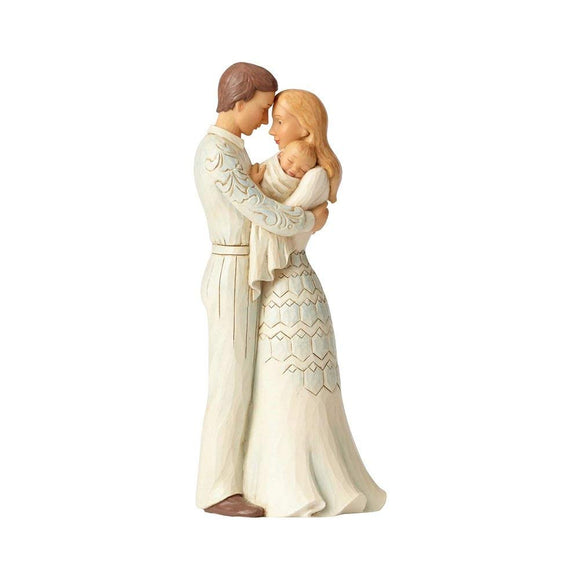 Enesco Couple with Baby, Multicolor
