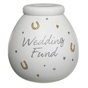 Pot of Dreams - Ceramic Money Box - Our Wedding Fund