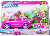 Shopkins Happy Places Berry Fun Convertible Vehicle Playset