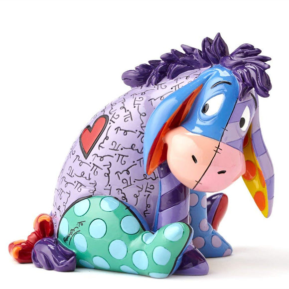 Disney by Britto Eeyore Stone Resin Figurine, 4 inch