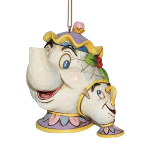 Disney Traditions by Jim Shore 'Mrs Potts & Chip' Hanging Ornament by Enesco