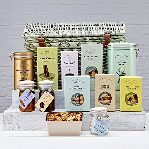 Cartwright and Butler Luxury Ribblesdale English Fine Food Hamper, Great Easter, Birthday or Mother's day gift.